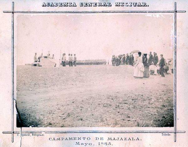 LA-0236032-PA_Academia General Militar-Campamento de Majazala - Mayo 1885-Colección Luis Alba