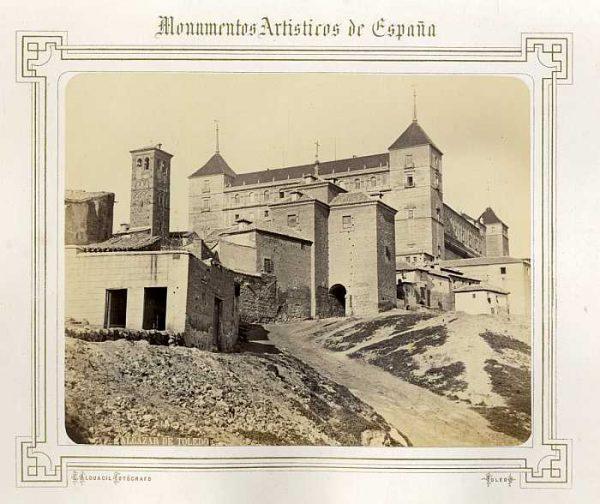 LA-0332029-PA_Alcázar- Fachada este y sur-Colección Luis Alba