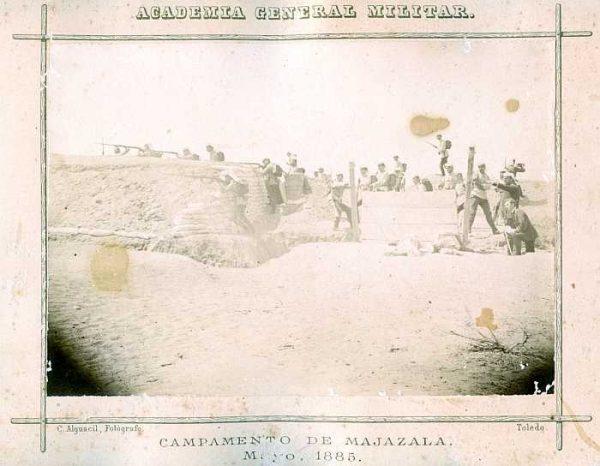 LA-0336033-PA_Academia General Militar-Campamento de Majazala - Mayo 1885-Colección Luis Alba