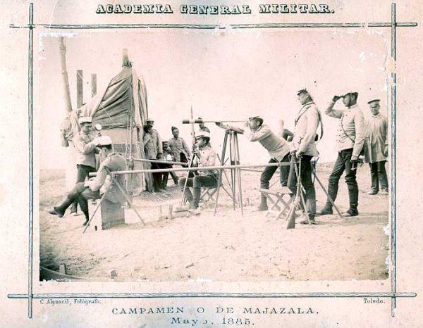 LA-0436034-PA_Academia General Militar-Campamento de Majazala - Mayo 1885-Colección Luis Alba