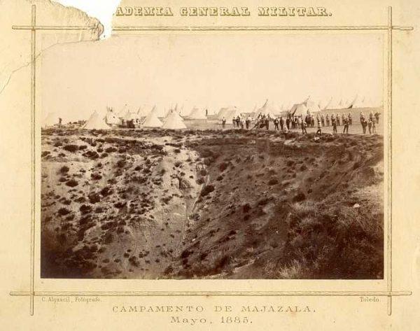 LA-0536035-PA_Academia General Militar-Campamento de Majazala - Mayo 1885-Colección Luis Alba
