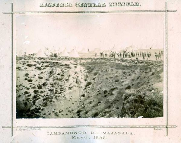 LA-0636036-PA_Academia General Militar-Campamento de Majazala - Mayo 1885-Colección Luis Alba