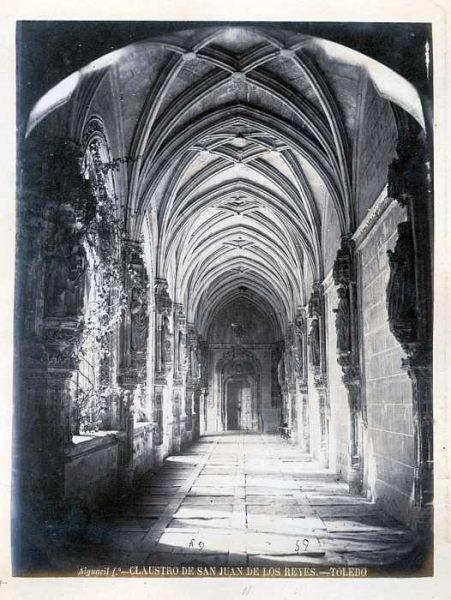 LA-133070-PA_Convento de San Juan de los Reyes-Claustro-Colección Luis Alba