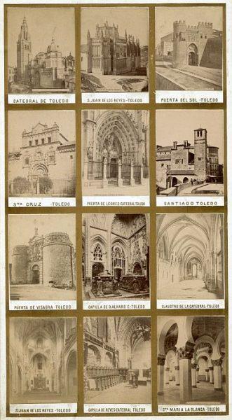 LA-1336037-0-PA_Vistas - Conjunto de doce fotografías de monumentos toledanos-Colección Luis Alba