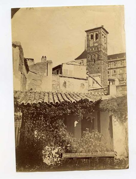 LA-134162-PA_Iglesia de San Miguel el Alto-Vista de la torre-Colección Luis Alba