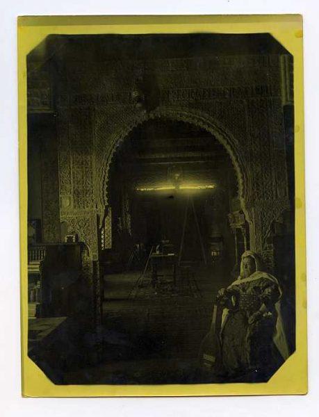 LA-134218-PA_Palacio de los Pantoja o Benacazón-Interior del Salón-Colección Luis Alba