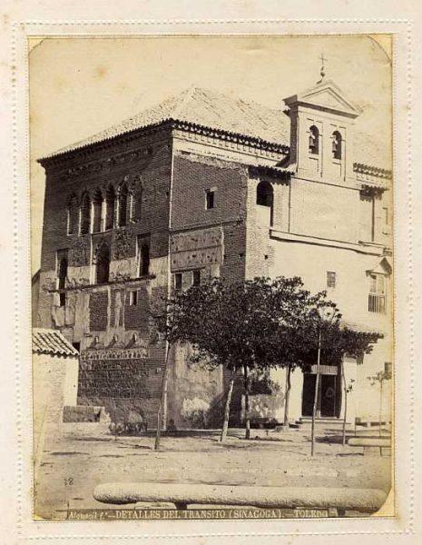 LA-135064-PA_Sinagoga del Tránsito-Exterior-Colección Luis Alba