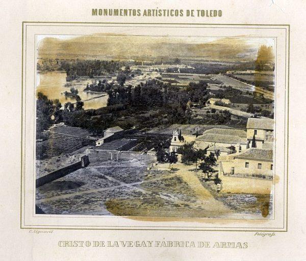 LA-1432074-PA_Vista de la Basílica de Santa Leocadia y Fábrica de Armas-Colección Luis Alba