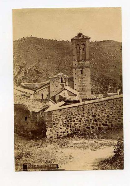 LA-1434158-PA_Calle de Santa Catalina e Iglesia de San Sebastián-Colección Luis Alba