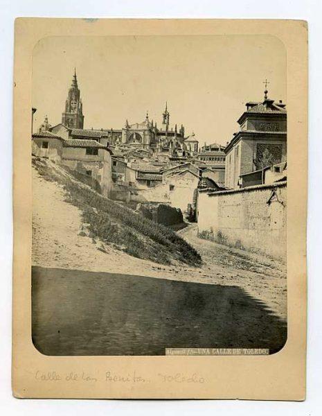 LA-234065-PA_Calle de las Benitas - Bajada del Barco-Colección Luis Alba