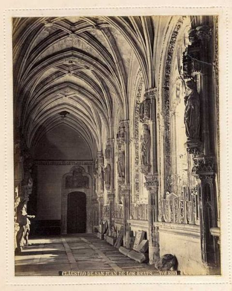 LA-335062-PA_Convento de San Juan de los Reyes-Claustro-Colección Luis Alba