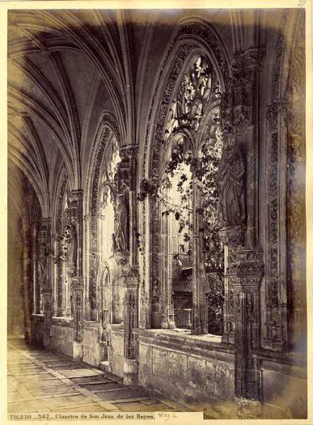 LA-433075-PA_Convento de San Juan de los Reyes-Claustro-Colección Luis Alba