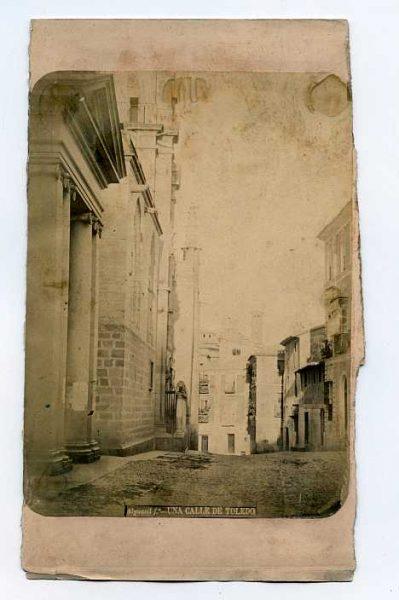LA-534061-PA_Calle de la Puerta Llana o Cardenal Cisneros-Colección Luis Alba