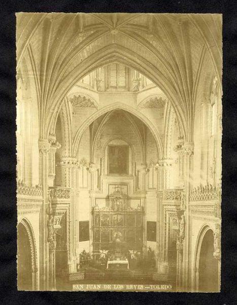 LA-635004-PA_Convento de San Juan de los Reyes-Interior de la Iglesia-Colección Luis Alba