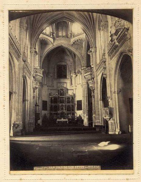 LA-735061-PA_Convento de San Juan de los Reyes-Interior de la Iglesia-Colección Luis Alba