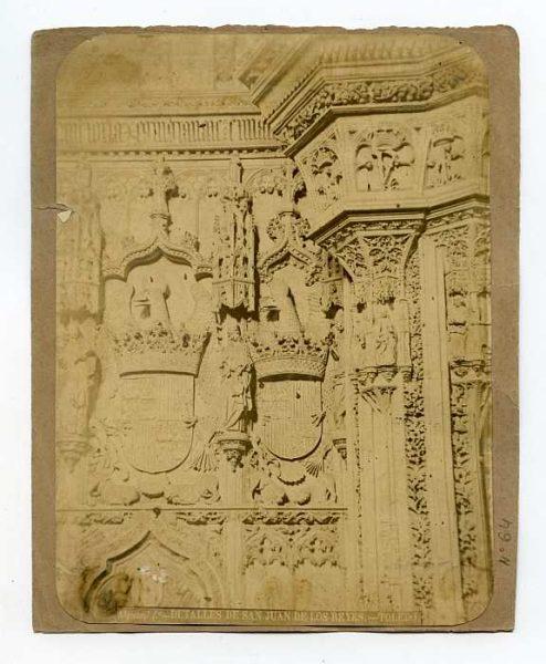 LA-834094-PA_Convento de San Juan de los Reyes-Interior de la Iglesia - Detalle-Colección Luis Alba