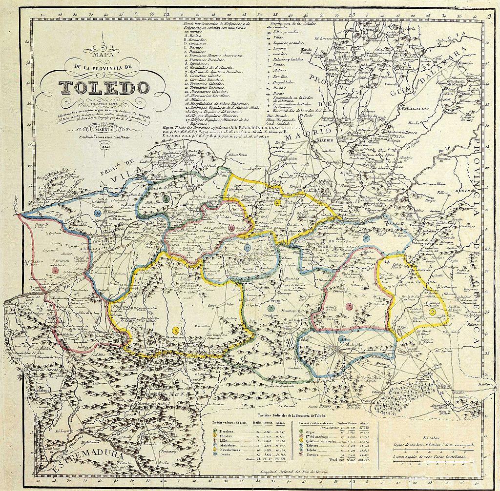 Mapa Provincia Toledo Carreteras.Mapas De La Provincia Ayuntamiento De Toledo