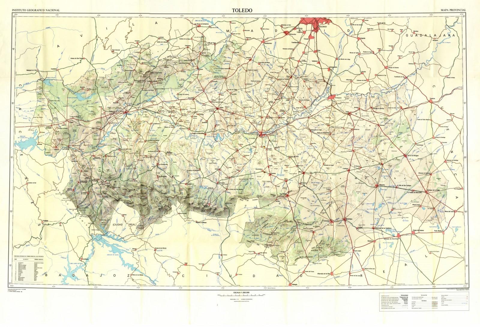 Mapa Provincia De Toledo Turismo.Mapas De La Provincia Ayuntamiento De Toledo