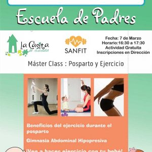 Master class: Postparto y ejercicio
