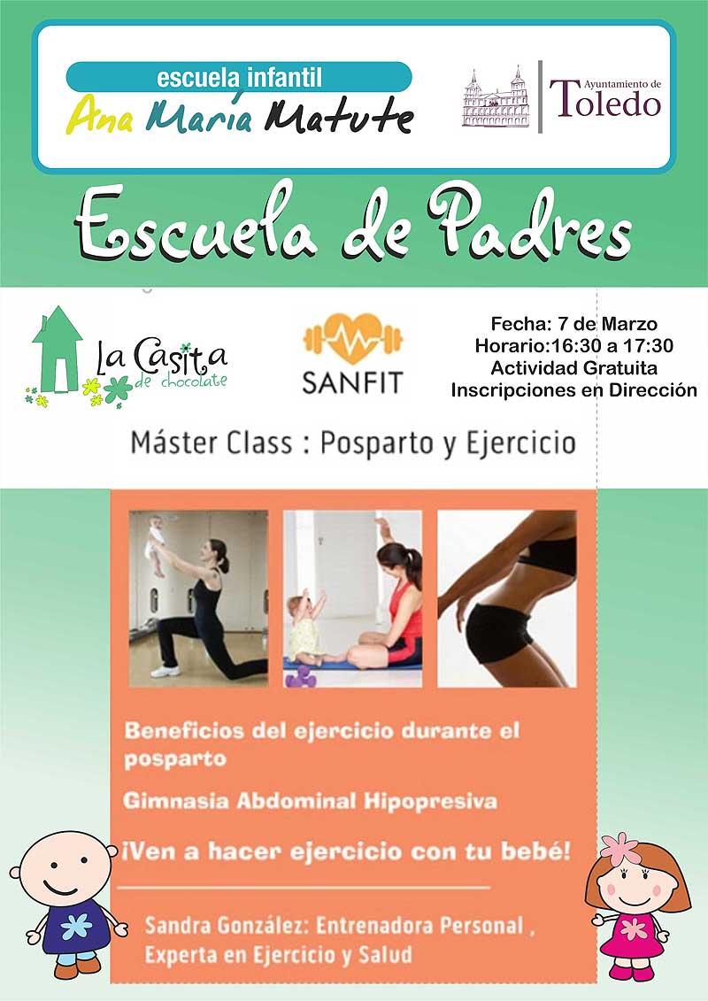 http://www.toledo.es/wp-content/uploads/2017/02/postparto.jpg. Master class: Postparto y ejercicio