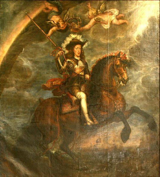 Retrato ecuestre de Carlos II por Francisco Rizi - 1679