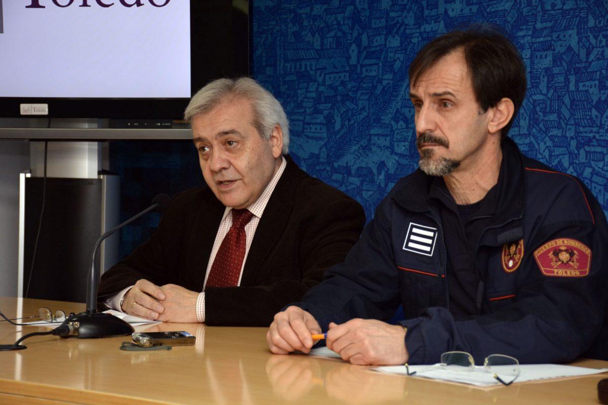 http://www.toledo.es/wp-content/uploads/2017/02/rueda-de-prensa-concejal-de-seguridad-y-jefe-del-parque-de-bomberos-1200x800.jpg. Campaña de prevención de incendios en el hogar y lugares de trabajo