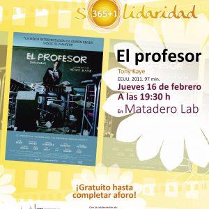 l Ayuntamiento ofrece un nuevo pase cinematográfico este jueves en Matadero Lab enmarcado en el Ciclo Solidaridad