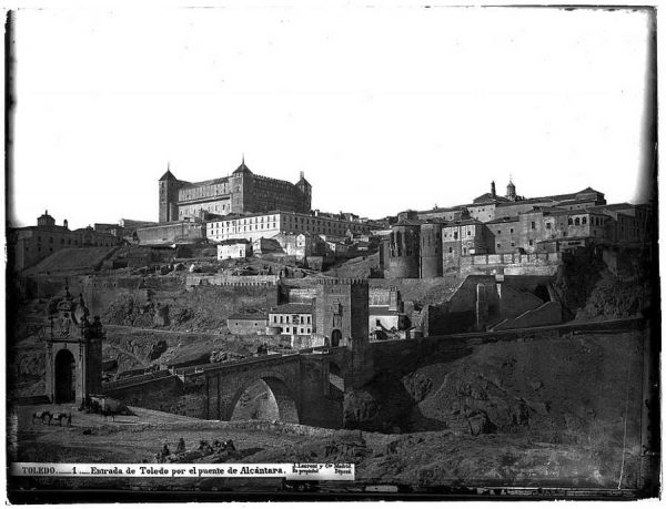 01-LAURENT - 0001 - Entrada de Toledo por el puente de Alcántara_2