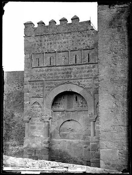 01-LAURENT - 0017 - Puerta árabe de Bisagra lodada_1