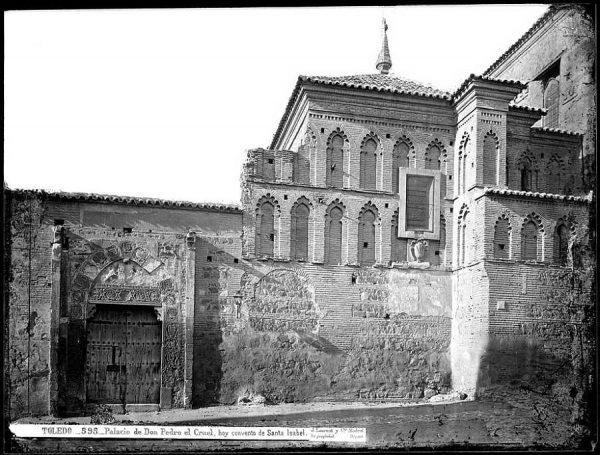 01-LAURENT - 0595 - Palacio de Don Pedro el Cruel, hoy convento de Santa Isabel_1