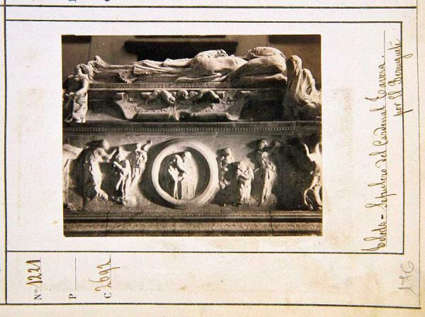 01-LAURENT - 2261 - Sepulcro del Cardenal Tavera en el Hospital de Afuera
