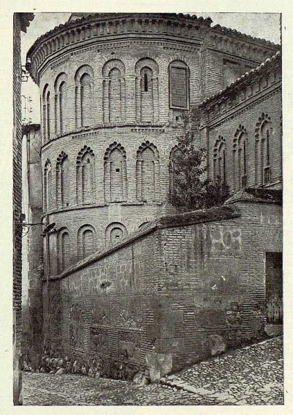 01-TRA-1922-185 - Convento de la Reina [Ábside de la iglesia de San Bartolomé]