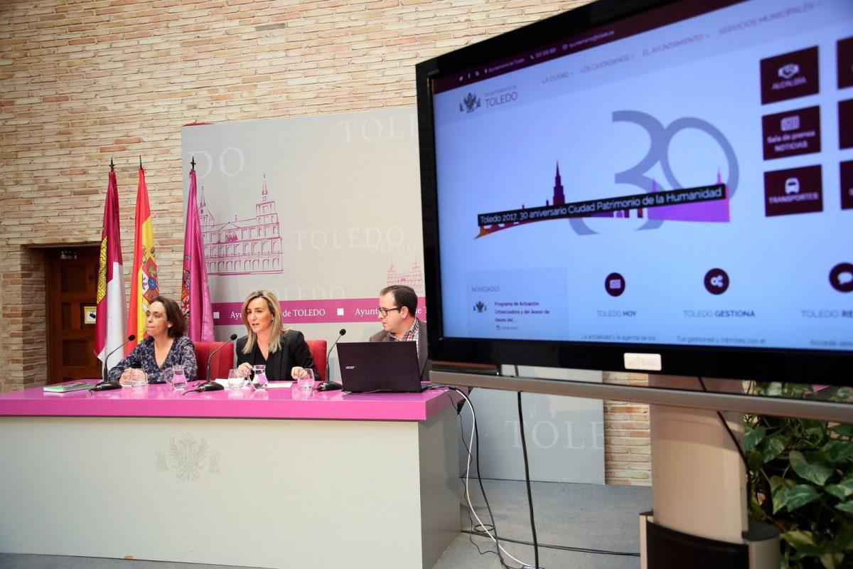 """La alcaldesa presenta www.toledo.es, la nueva web del Ayuntamiento """"modernizada, adaptada, accesible y transparente"""""""