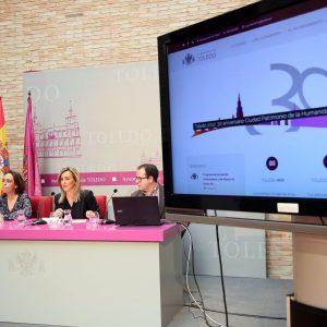 """a alcaldesa presenta www.toledo.es, la nueva web del Ayuntamiento """"modernizada, adaptada, accesible y transparente"""""""