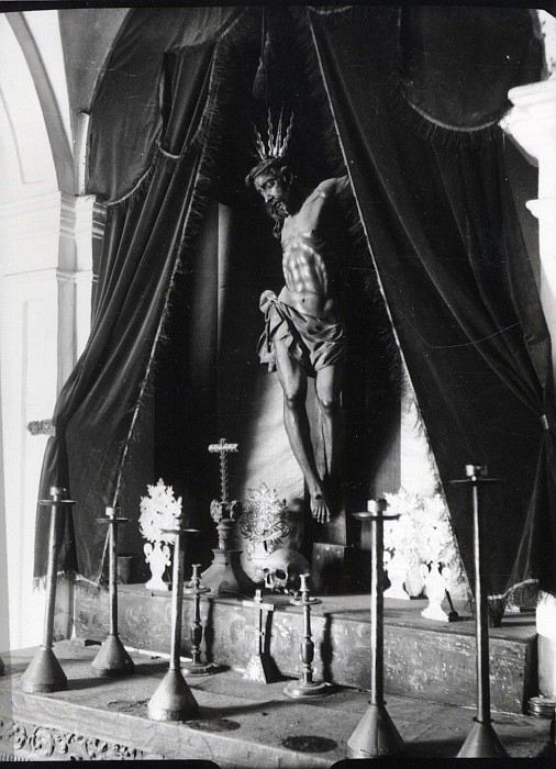 Cristo de la Sangre. Fuente: Ayuntamiento de Toledo, Archivo Municipal