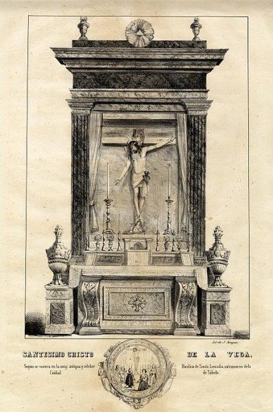 01_Toledo-Cristo de la Vega de la Basílica de Santa Leocadia