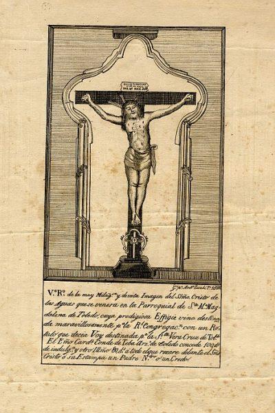 01_Toledo-Cristo de las Aguas de la Iglesia de Santa María Magdalena