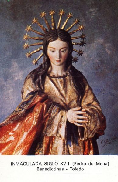 01_Toledo-Inmaculada del Convento de las Benedictinas
