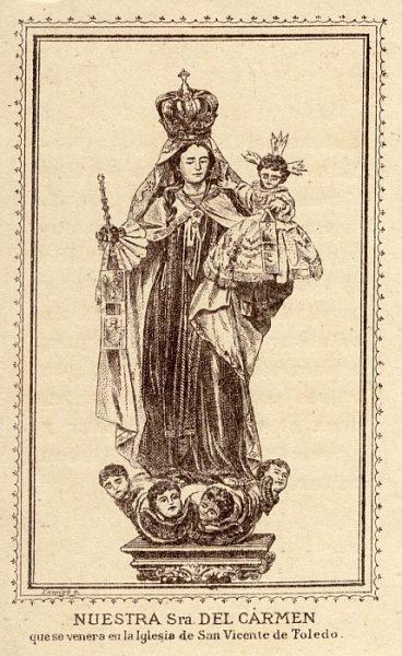 01_Toledo-Nuestra Señora del Carmen de la Iglesia de San Vicente