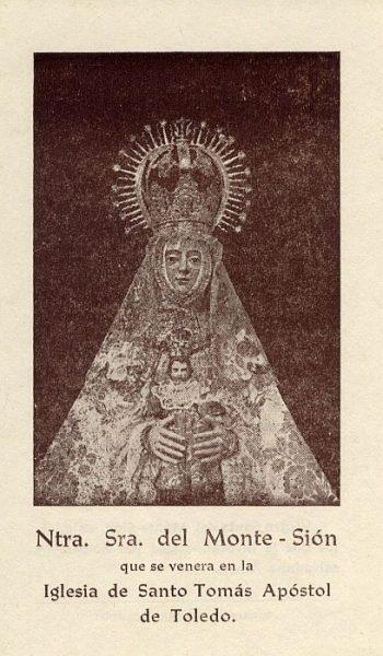 01_Toledo-Nuestra Señora del Monte Sión de la Iglesia de Santo Tomás Apóstol