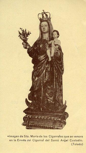 01_Toledo-Virgen de Santa María de los Cigarrales del Cigarral del Santo Ángel Custodio