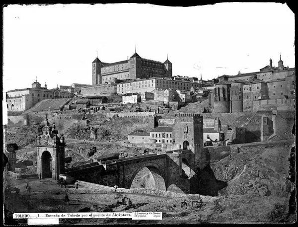 02-LAURENT - 0001 - Entrada de Toledo por el puente de Alcántara_3