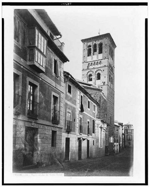02-LAURENT - 0011 - Torre árabe de Santo Tomé_4 [Calle de Santo Tomé]