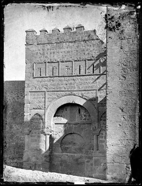 02-LAURENT - 0017 - Puerta árabe de Bisagra lodada_2