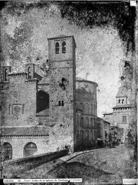 02-LAURENT - 0018 - Torre árabe de la iglesia de Santiago_2