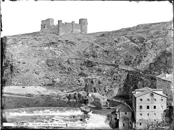 02-LAURENT - 0030 - Vista del castillo de San Servando