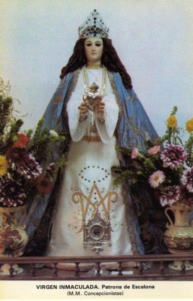 02_Escalona-Virgen Inmaculada del Convento de las Madres Concepcionistas
