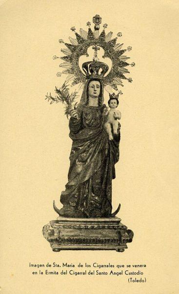 02_Toledo-Virgen de Santa María de los Cigarrales del Cigarral del Santo Ángel Custodio