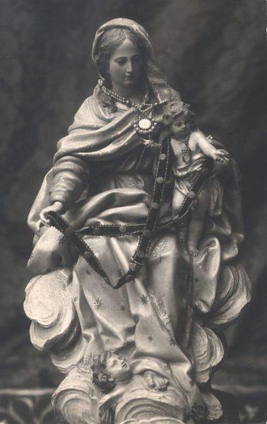 02_Toledo-Virgen y Niño Jesús del Convento de Santa Úrsula