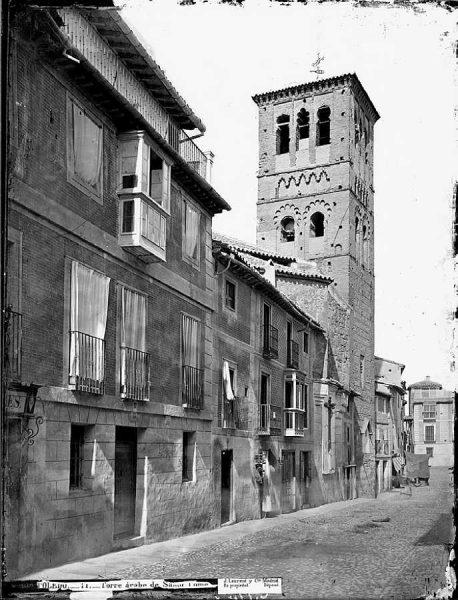 03-LAURENT - 0011 - Torre árabe de Santo Tomé [Calle de Santo Tomé]